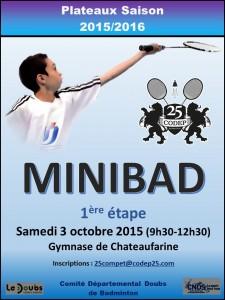 AFFICHE Minibad -1 - 2015-2016