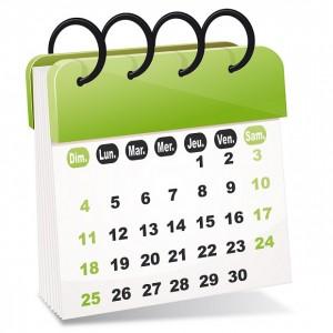 vecteur calendrier
