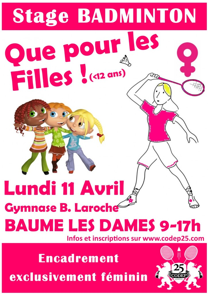 stage filles