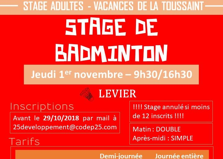 Permalien vers:Stages ADULTES